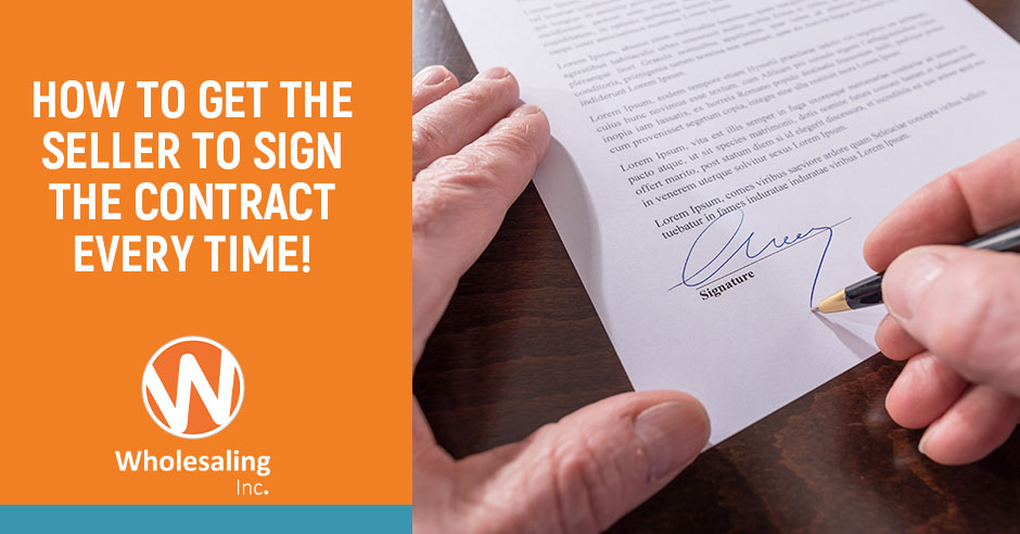 WI 602 | Getting The Contract Signed